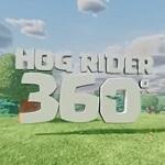 【クラクラ攻略】ホグライダーの視点で!360度動画!